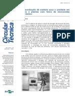 Circular Tecnica 33 determinação de matéria seca