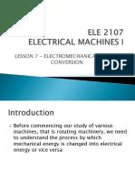 ELE 2117 - Lesson 7
