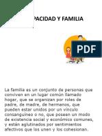 DISCAPACIDAD Y FAMILIA