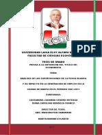 (Cedeño y Mendoza, 2013) - Trompeta especie importante en pesca blanca - Analisis de las exportaciones de la pesca blanca y su impacto en la generación de empleo.pdf