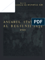 Anuarul Statistic Al Regiunii Iasi 1960