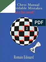 Edouard Romain - The Chess Manual of Avoidable Mistakes-2 (2015).pdf