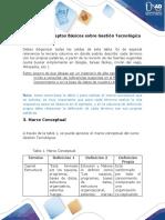 Anexo A - Conceptos Básicos sobre Gestión Tecnológica
