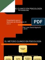EL METODO CLINICO EN PSICOLOGÍA
