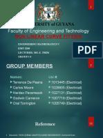 EMT 3200 Group #4 Curve  Fitting