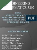 EMT 3202 PRESENTATION