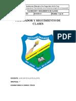Diario de campo Cívica 7° tercer periodo