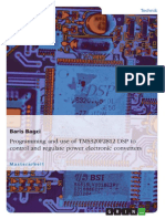 Programming and use of TMS320F2812 DSP to control and regulate power electronic converters.pdf