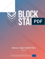 BlockStart Annex 1 Open Call 2 Text