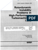 Rotordynamic Insatability Problems in High-Performance Turbomachinery