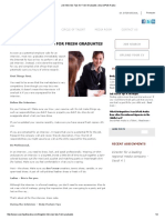 Job Interview Tips for Fresh Graduates _ SearchPath Arabia