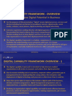 Digital Capability Framework Overview