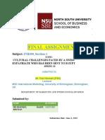 INB490 FINAL assignment