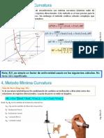 metodo minima curvatura