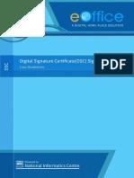 DSC Signer Service (Ver.4.1) User Guidelines