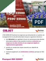 Webinaire. ISO 22000 _ FSSC 22000_ les nouveautés
