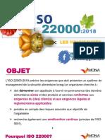 Webinaire. ISO 22000 _ les nouveautés