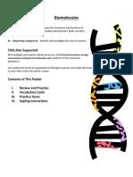 Biomolecules Guide