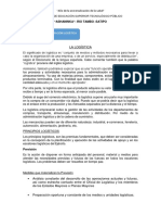 SEGUNDA  SEMANA  ADMINISTRACION LOGISTICA CLASE 02