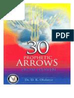 Trente flèches prophétiques venant du ciel. Dr Olukoya.pdf