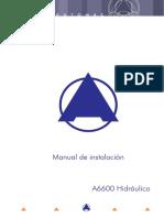 Manual Instalación A6600 Hidráulico.pdf