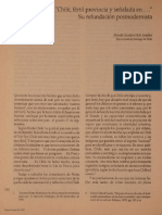 Chile y Su Fundacion Posmodena