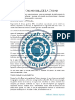 Resumen - Visión Organicista y Tecnológica