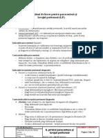 Protocol pt. paracenteza si lavajul peritoneal