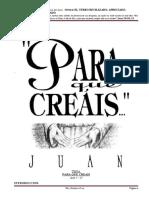 1. Tema - LA RESPUESTA AL OFRECIMIENTO DIVINO DE LA SALVACION - Juan 3.11-21.docx