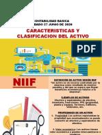 Caracteristicas y Clasificación del Activo