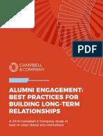 Alumni Engagement Report