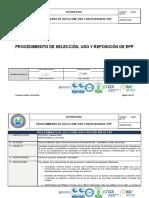 HSEQ-007-PC PROCEDIMIENTO SELECCION, USO Y REPOSICION DE EPP V5.docx