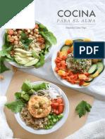 Cocina para el alma - Recetas saladas