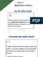 3.ação social