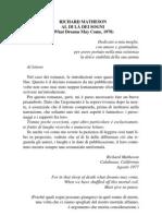 Richard Matheson - Al Di Là Dei Sogni