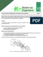 Be19 - Troca dos selos de vedação dos compressores alumínio