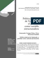 Dialnet-PoliticaExteriorDeVenezuela-5720192