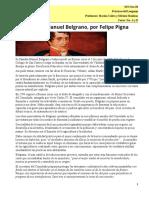 Biografía de  Belgrano y Güemes- El resumen- 3er año