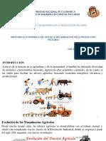 IMPORTANCIA ECONOMICA DEL USO DE LA MECANIZACIÓN EN LA PRODUCCIÓN PECUARIA