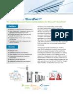 Adlib PDF for SharePoint Datasheet