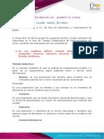 Aporte Parte Colaborativa - Geometria Plana (Fase 1)