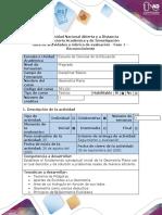 Guía de Actividad  y  Rubrica de Evaluación - Fase 1 -  Reconocimiento Desarrollar el trabajo colaborativo y reconocer el curso según guía.