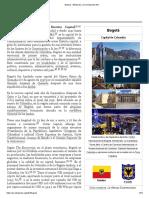 Bogotá - Wikipedia, la enciclopedia libre