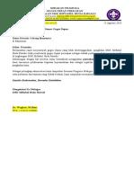 Surat Permohonan nOMOR gUDEP