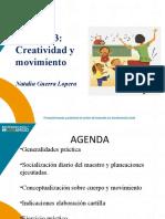 Creatividad y movimiento