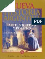 Nueva Historia Argentina - Arte, Sociedad y Politica - Burucúa, José E. (dir.) Tomo I
