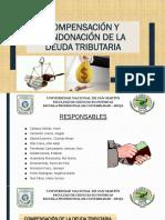 COMPENSACIÓN Y CONDONACIÓN DE LA DEUDA TRIBUTARIA (1)