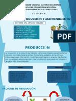 Logistica de Producción-2019-II