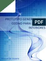 Manual usuario Ozonizador