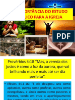 01_A IMPORTÂNCIA DO ESTUDO BÍBLICO PARA IGREJA